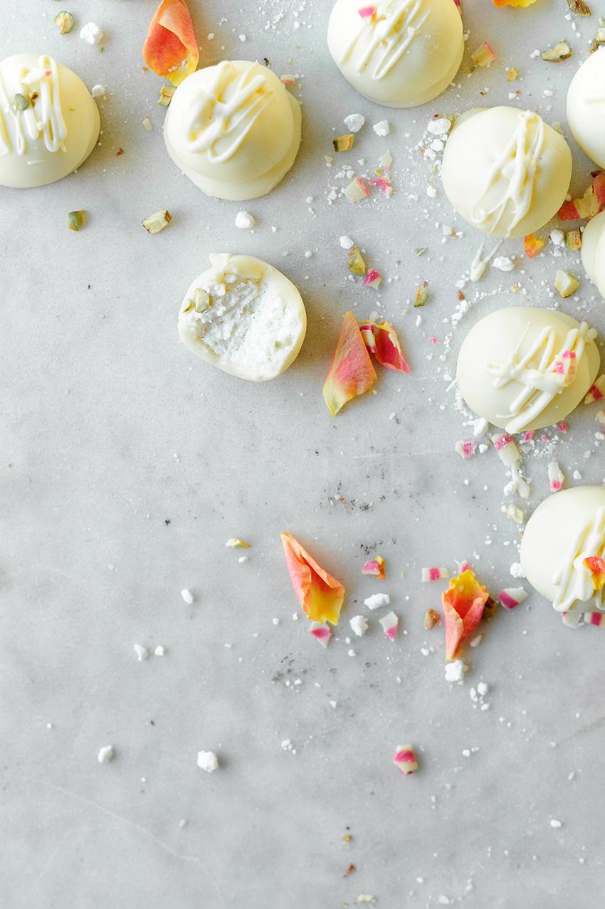 Cheesecake pralines met witte chocolade4