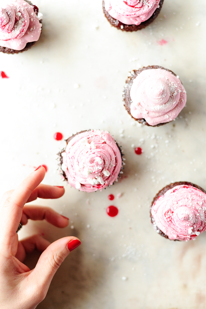 Cupcakes z kremem zurawinowym2