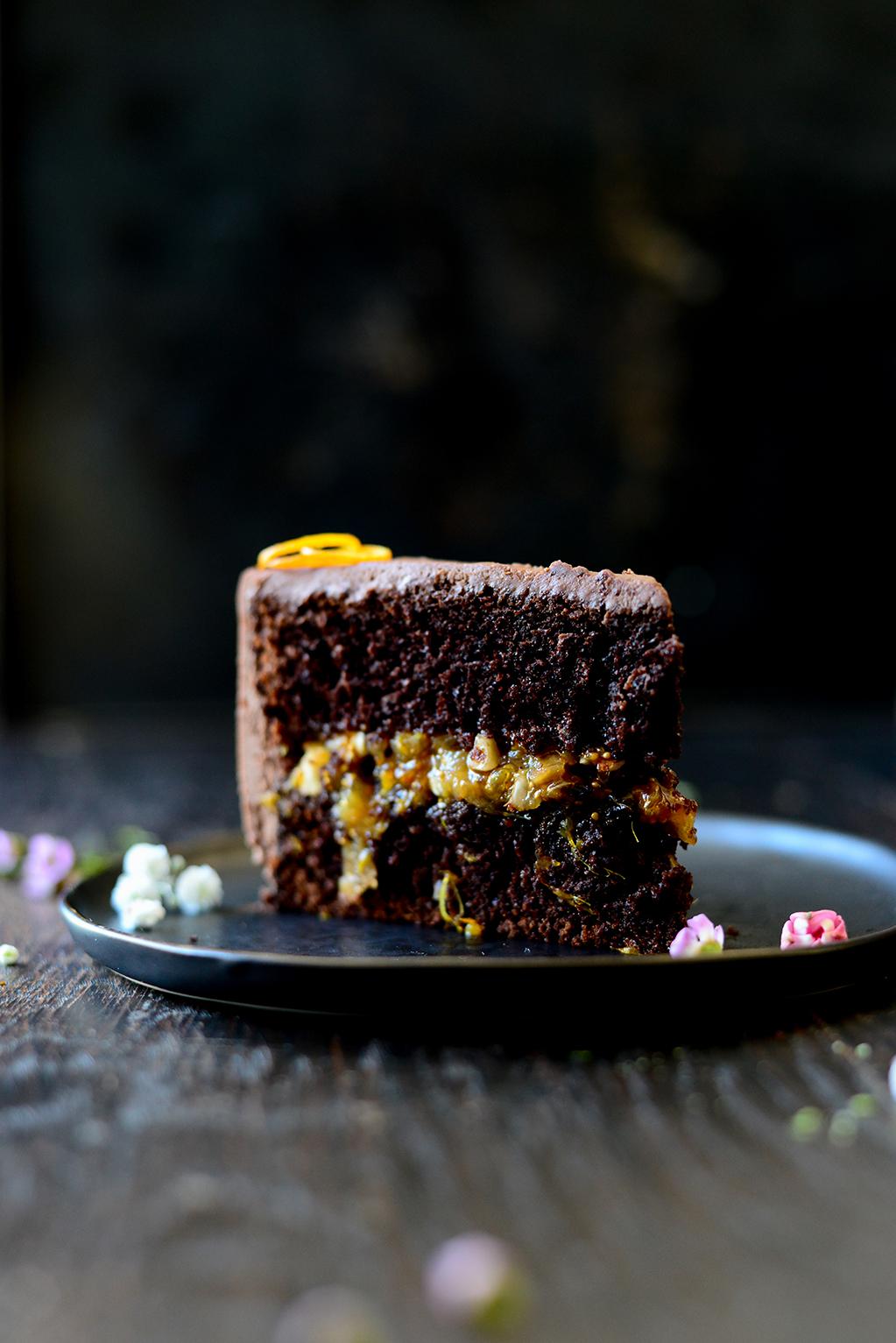 studio kuchnia | Ciasto czekoladowe pomarańczowo-figowe