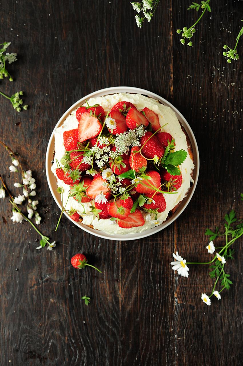 studio kuchnia | Ciasto z truskawkami