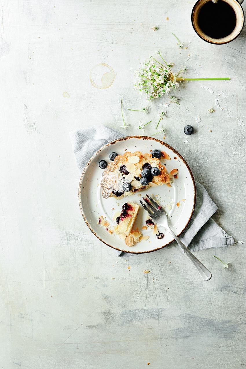 studio kuchnia | Babeczki migdałowe z borówkami