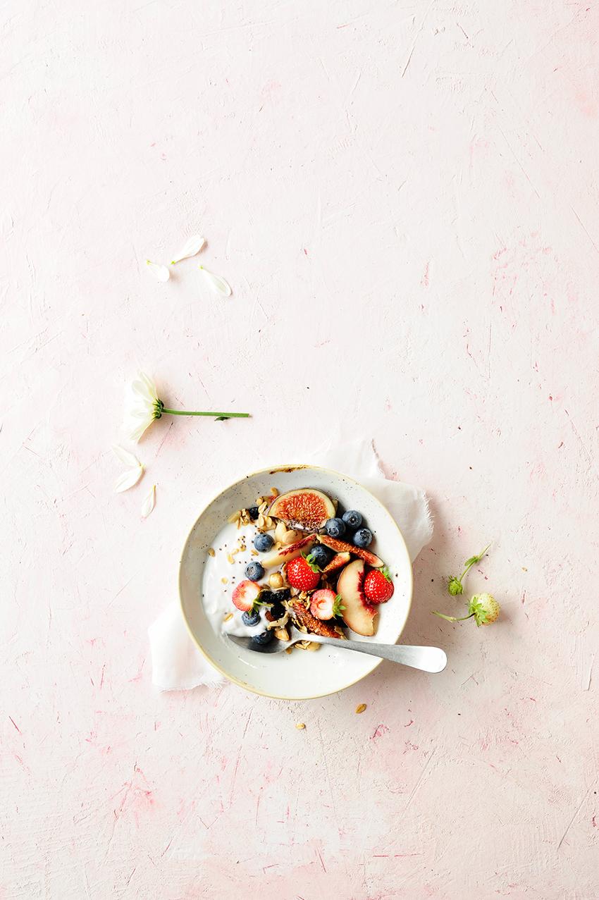 studio kuchnia | Power granola z suszonymi borówkami