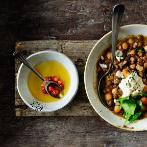 Winter one-pot lentil stew