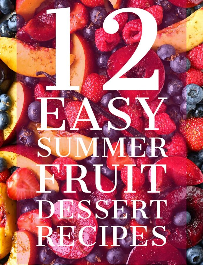 12 easy summer dessert recipes