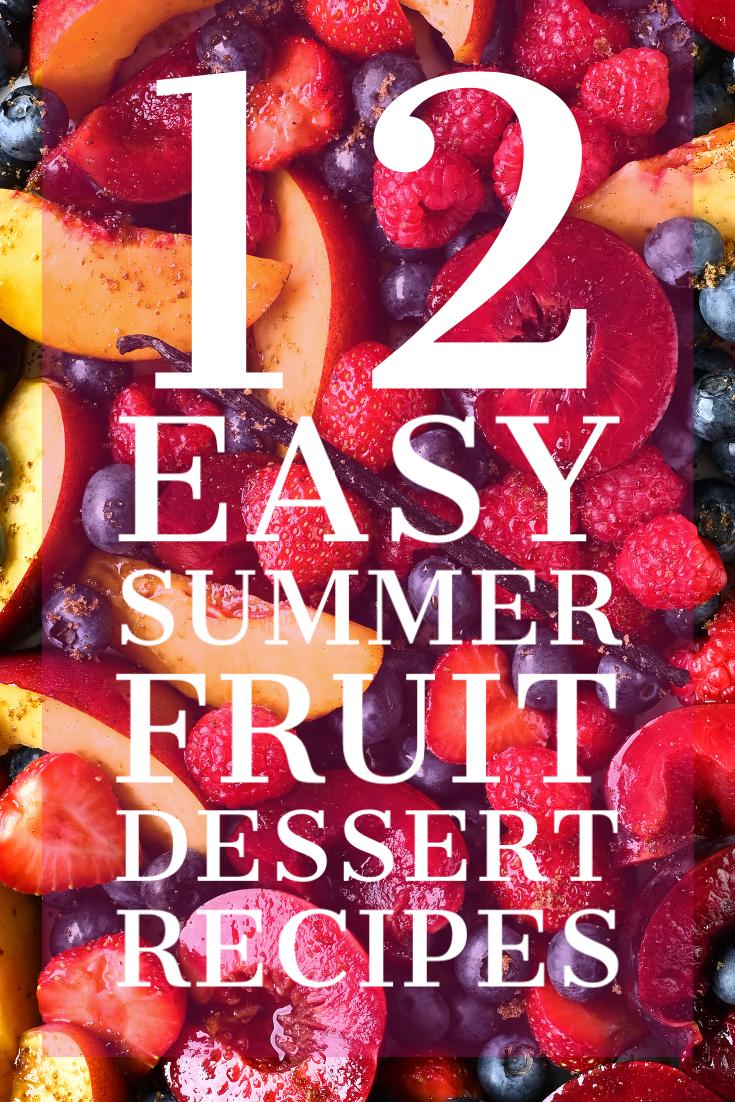 serving dumplings | 12 easy summer desserts