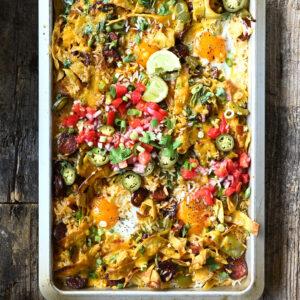 Mexicaanse rijstschotel met chorizo en eieren