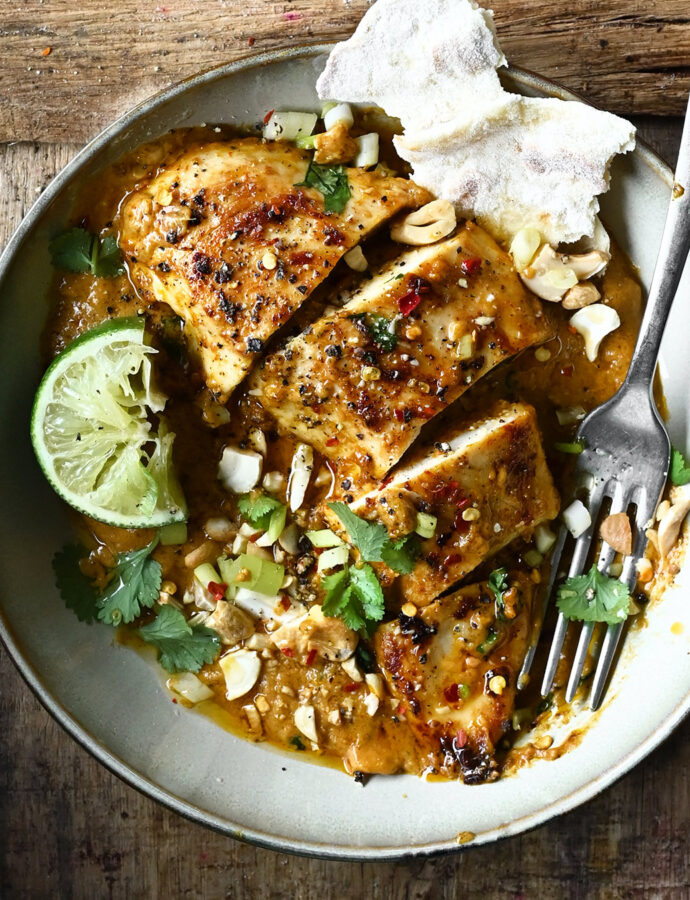 Easy Peanut Butter Chicken