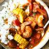 One-pan Spanish Chorizo with Shrimp and Corn